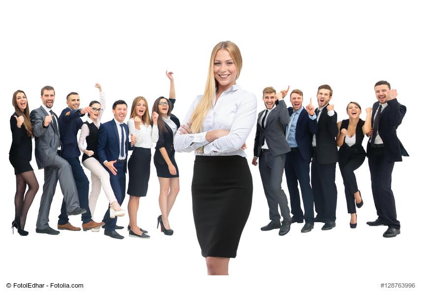 Führung, Empowerment, Kompass, Mitarbeiter, weiblich